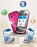Samsung Dual Sim Mobile B5722 Features Images