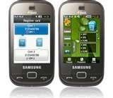 Samsung Dual Sim Mobile B5722 Features Photos