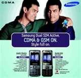Samsung Touch Dual Sim Mobile Phones
