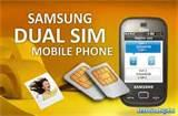 Samsung B5722 Dual Sim Mobile Photos